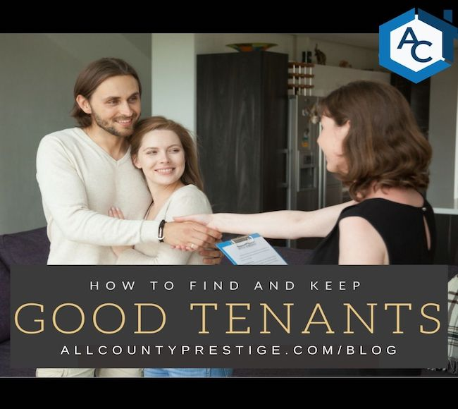 How to find and keep good tenants